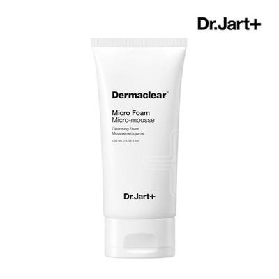 Dr.Jart+ ダーマクリアマイクロ弱酸性フォーム120ml DermaClear Micro Foam Micro-mousse cleansing foam 洗顔 洗顔フォーム くレンジャー