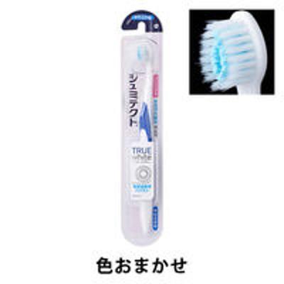 グラクソ・スミスクラインシュミテクト トゥルーホワイト ハブラシ 知覚過敏予防 着色汚れ除去 コンパクト やわらかめ グラクソ・スミスクライン 歯ブラシ