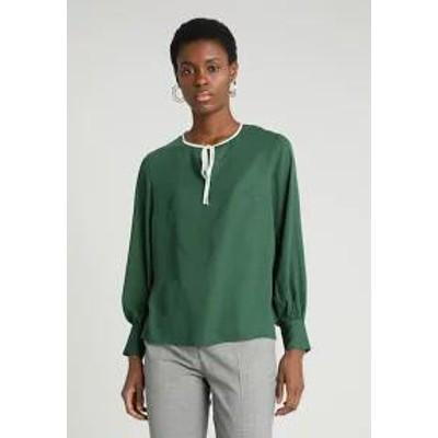 mint&berry レディースシャツ mint&berry Blouse - dark green dark gree