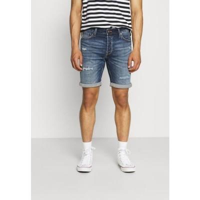 ジャックアンドジョーンズ メンズ ファッション JJIRICK JJICON - Denim shorts - blue denim