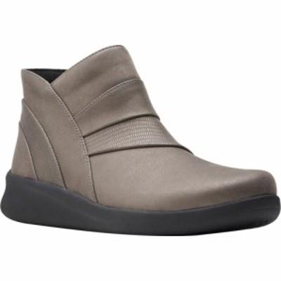 クラークス Clarks レディース ブーツ ショートブーツ シューズ・靴 Sillian 2.0 Rise Ankle Bootie Dark Pewter Synthetic