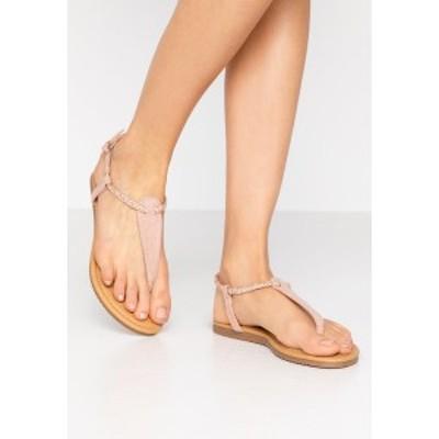 アンナフィールド レディース サンダル シューズ T-bar sandals - rose gold rose gold