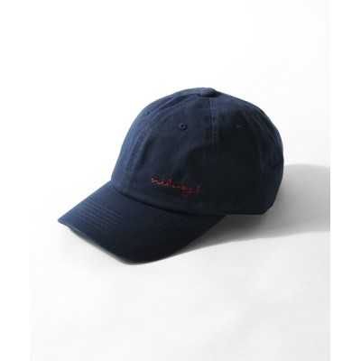 Nilway / 【Nilway.t】 ロゴ刺繍ローキャップ MEN 帽子 > キャップ
