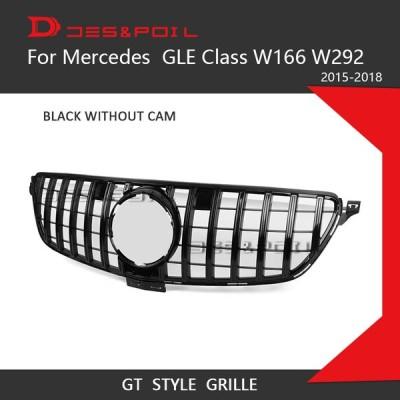★人気 メルセデスベンツ gleクラス W166 W292クーペsuv 2015-2018 GLE300 GLE320 GLE350 GLE63 フロントグリル パーツ カスタム 輸入 4