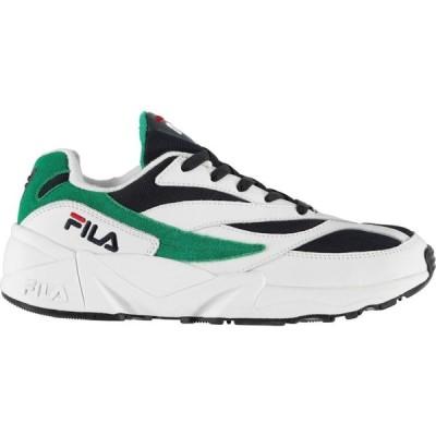 フィラ Fila メンズ スニーカー シューズ・靴 94 Heritage Trainers White/Navy Shad