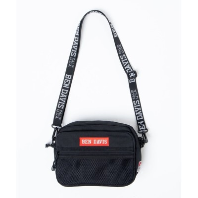 WEGO / WEGO/BEN DAVIS BOX LOGO TAPE SHOULDER MEN バッグ > ショルダーバッグ
