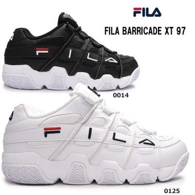 フィラ FILA スニーカー メンズ バリケード TX97 F0414 レトロ バスケットシューズ ダッドスニーカー BARRICADE