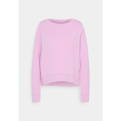 マルコポーロ パーカー・スウェットシャツ レディース アウター LONG SLEEVE ROUND NECK - Sweatshirt - breezy lilac