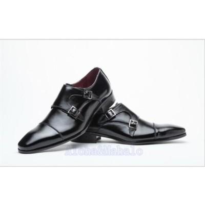 メンズビジネスシューズ革靴プレーントゥ紳士靴フォーマルシューズ快適靴歩きやすい通勤リクエスト無地ハイカットシューズ