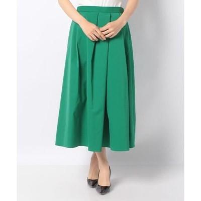 MISS J / ミス ジェイ ポリエステルツイル ロングスカート