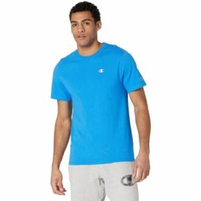 チャンピオン Champion LIFE メンズ Tシャツ トップス Heritage Short Sleeve T-Shirt Blue Jay
