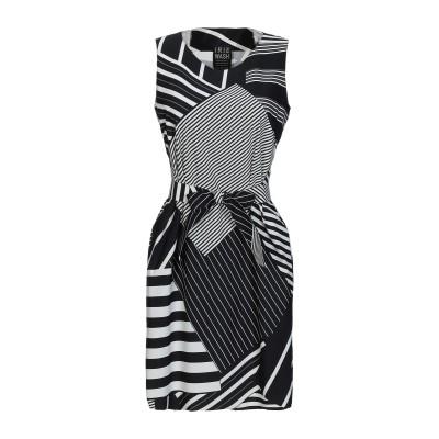 IRIE WASH ミニワンピース&ドレス ブラック S ナイロン 72% / ポリウレタン 28% ミニワンピース&ドレス