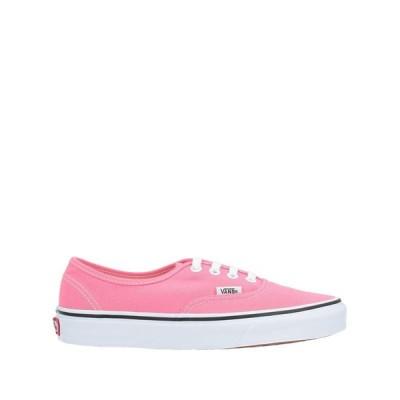 バンズ VANS  レディース スニーカー シューズ 靴 ピンク
