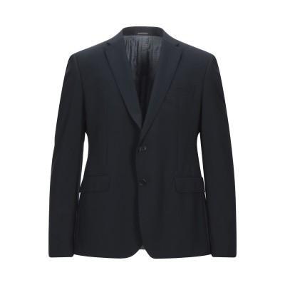 エンポリオ アルマーニ EMPORIO ARMANI テーラードジャケット ダークブルー 54 バージンウール 96% / ポリウレタン 4% テー
