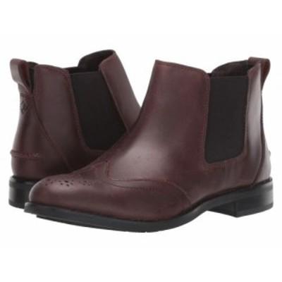 Sperry スペリー レディース 女性用 シューズ 靴 ブーツ チェルシーブーツ アンクル Fairpoint Leather Chelsea Autumnal【送料無料】