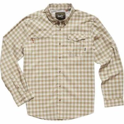 ホウラーブラザーズ Howler Brothers メンズ シャツ トップス Matagorda Shirt Peninsula Plaid Quill Green