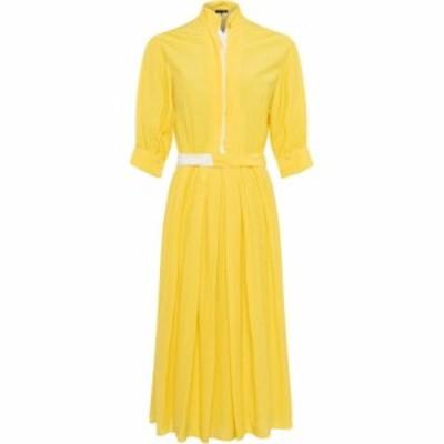 フレンチコネクション French Connection レディース ワンピース シャツワンピース Aiden Drape Contrast Shirt Dress Bright Daffodil/S
