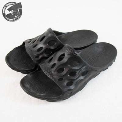 【国内正規品】メレル ハイドロ スライド メンズ スニーカー サンダル MERRELL HYDRO SLIDE  BLACK/BLACK J033517