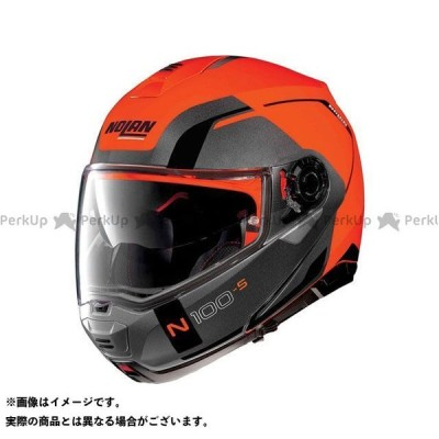 【無料雑誌付き】NOLAN フルフェイスヘルメット N100.5 Consistency N-Com Helmet(オレンジ-グレー)N150003…