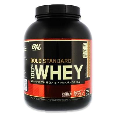 [正規代理店]ゴールドスタンダード 100% ホエイプロテイン チョコレートモルト 2.27kg(5lbs)約73回分 Optimum Nutrition(オプチマムニュートリション)