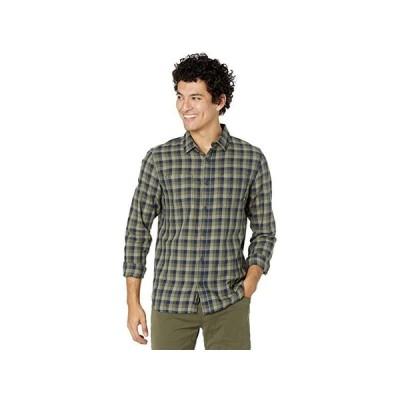 バンズ Alameda II Long Sleeve Woven Shirt メンズ シャツ トップス Dress Blues/Grape Leaf