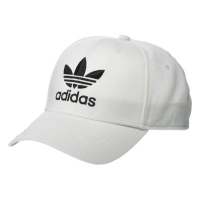 アディダス adidas Originals メンズ キャップ スナップバック 帽子 Originals Icon Precurve Snapback White/Black