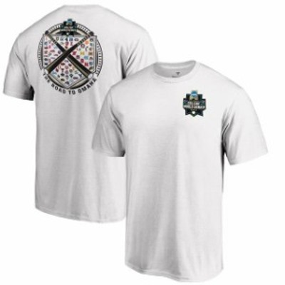 Fanatics Branded ファナティクス ブランド スポーツ用品  Fanatics Branded White 2019 NCAA Baseball Mens College World Series 64-Te