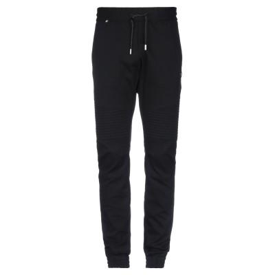PHILIPP PLEIN パンツ ブラック XL レーヨン 65% / ナイロン 30% / ポリウレタン 5% パンツ