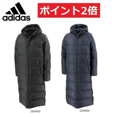 adidas アディダス メンズロングダウンコート LT ダウンコート IZG99