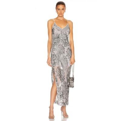 フルール ドゥ マル fleur du mal レディース ワンピース スリップドレス ワンピース・ドレス fil coupe slip dress Platinum