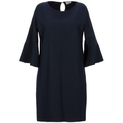 ROBERTA SCARPA ミニワンピース&ドレス ダークブルー XL レーヨン 68% / ナイロン 27% / ポリウレタン 5% ミニワンピ