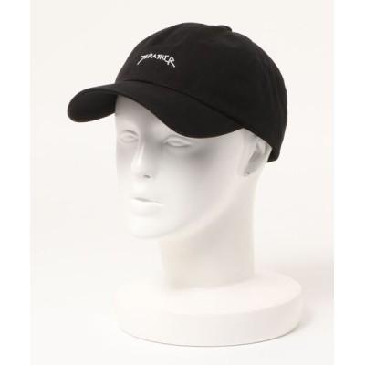 THRASHER by RIFFLEPAGE / MAG LOGO ローキャップ/スラッシャー 帽子 キャップ MEN 帽子 > キャップ