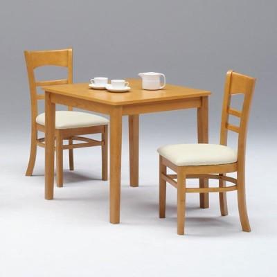 ダイニングテーブルセット 2人用 3点セット 北欧  シンプル