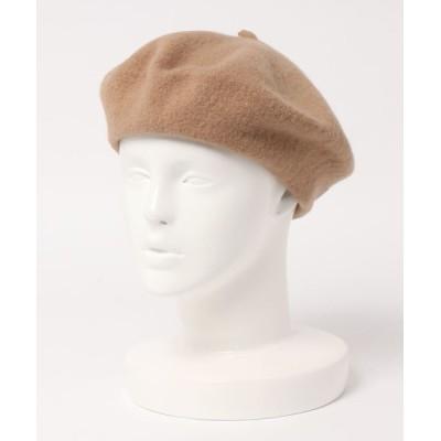 14+(ICHIYON PLUS) / オリジナルシンプルウールベレー WOMEN 帽子 > ハンチング/ベレー帽