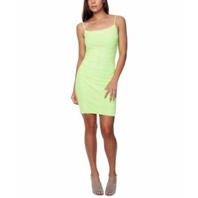 ベベ レディース ワンピース トップス Power Mesh Mini Dress Lime