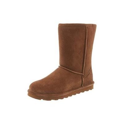 Bearpaw Women's Elle Short Hickory Ii MidCalf Suede Boot  10M