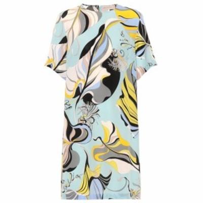 エミリオ プッチ Emilio Pucci レディース ワンピース ワンピース・ドレス Printed silk dress