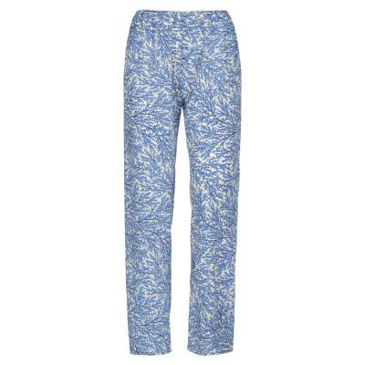 MOMONÍ パンツ ブライトブルー XS シルク 100% パンツ