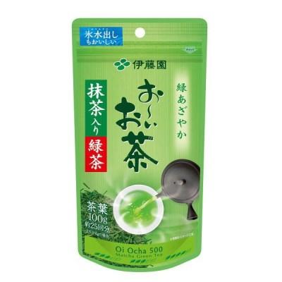 水出し可 伊藤園 おーいお茶 抹茶入り緑茶 1袋(100g)