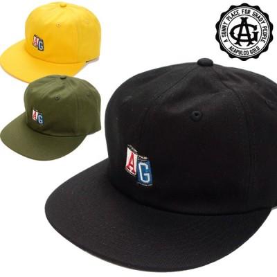 Acapulco Gold/アカプルコゴールド AG CANS TWILL 6 PANEL CAP/6パネルキャップ