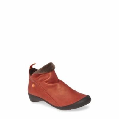 フライロンドン SOFTINOS BY FLY LONDON レディース ブーツ シューズ・靴 Farah Bootie Red Leather