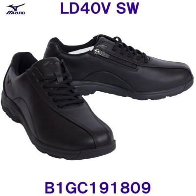 ミズノ MIZUNO 【2020SS】 ウォーキングシューズ B1GC191809 LD40V SW ブラック