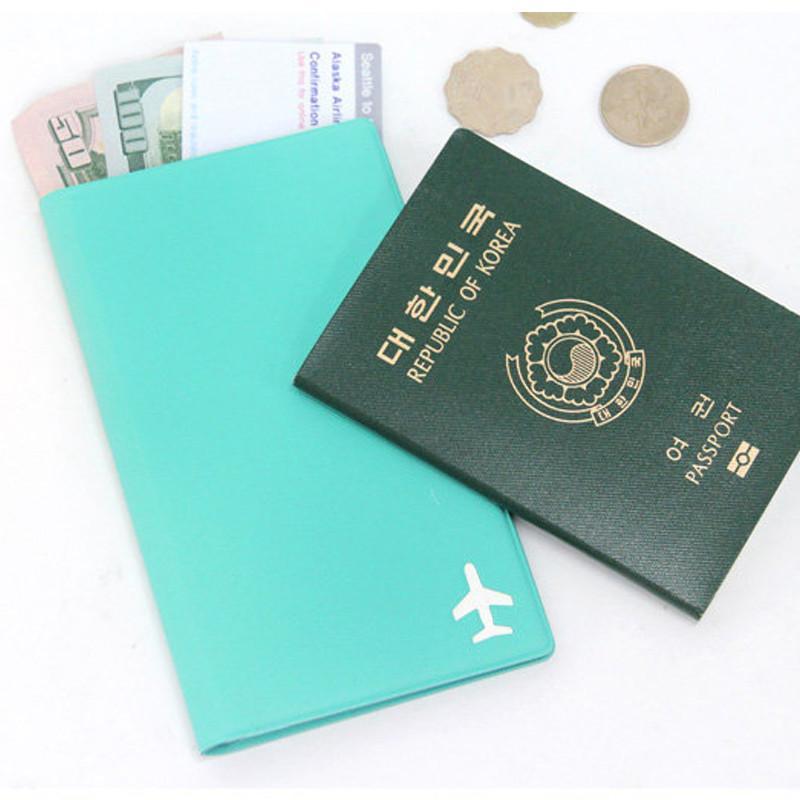 LINE-UP 證件護照套(中) - 蒂芬妮綠