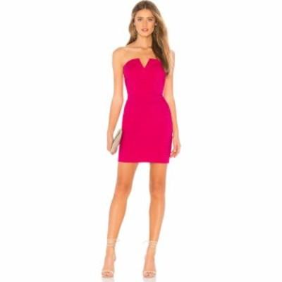 スーパーダウン superdown レディース ワンピース ブレザードレス ワンピース・ドレス Valentina Strapless Blazer Dress Hot Pink