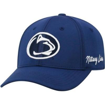 トップオブザワールド メンズ 帽子 アクセサリー Top of the World Men's Penn State Nittany Lions Blue Phenom 1Fit Flex Hat