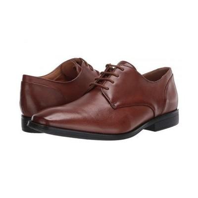 Clarks クラークス メンズ 男性用 シューズ 靴 オックスフォード 紳士靴 通勤靴 Gilman Plain - Tan Leather