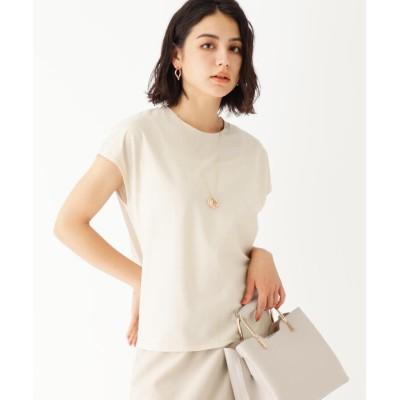 OPAQUE.CLIP(オペークドットクリップ) 【WEB限定サイズ】フレンチスリーブTシャツ