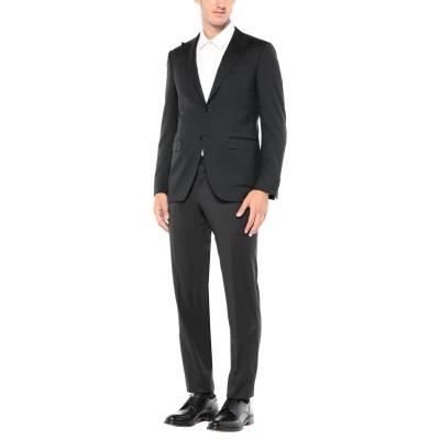 カナーリ CANALI スーツ ブラック 48 ウール 100% スーツ