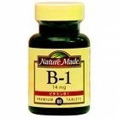 大塚製薬 ネイチャーメイド ビタミンB-1  80粒 4987035260417