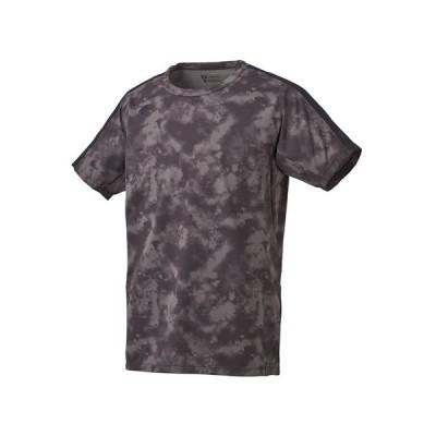 デサント(DESCENTE) ZERO STYLE サンスクリーン Tシャツ DMMPJA04Z BK (Men's)